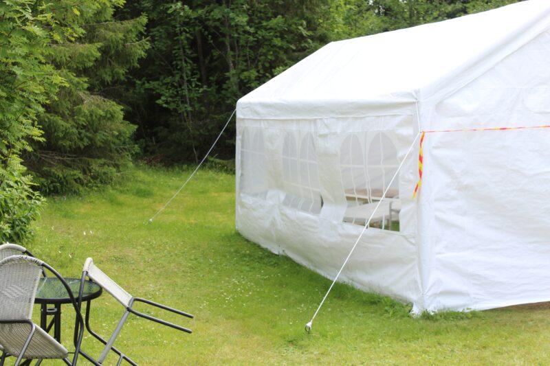 テントの張り綱