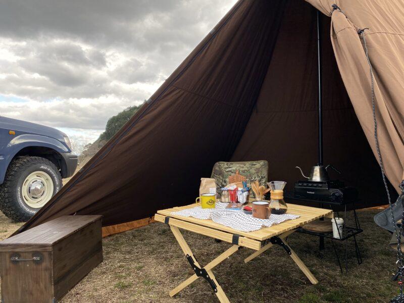 冬キャンプの必需品