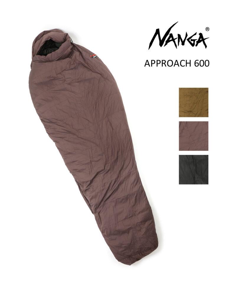 ナンガ Approach 600 レギュラーサイズ カーキ/ネイビー
