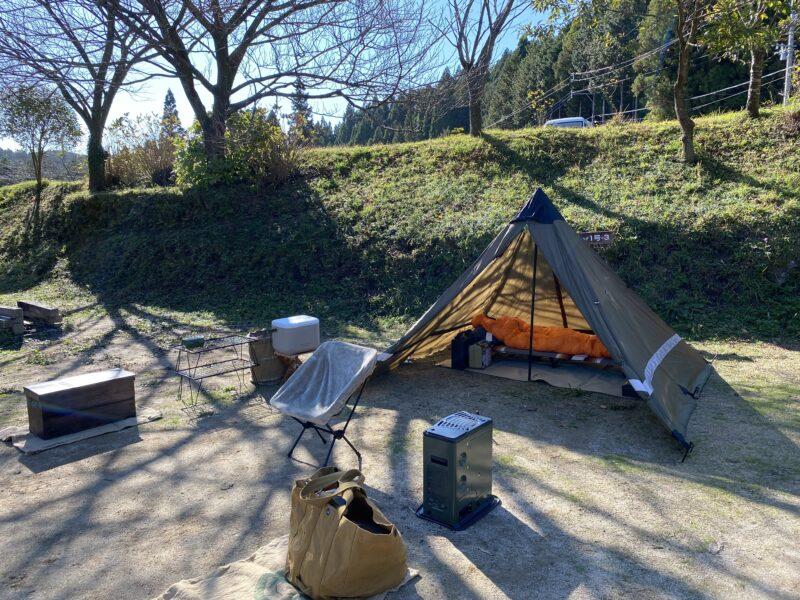 吉野山キャンプ